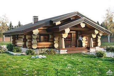 Дореволюционный деревенский дом, по проекту №47
